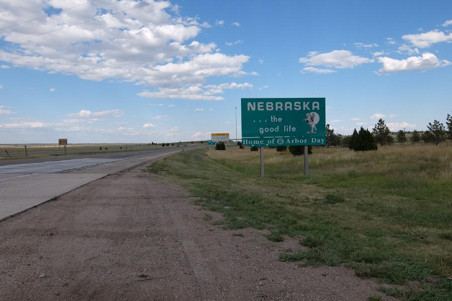 Nebraska on the road