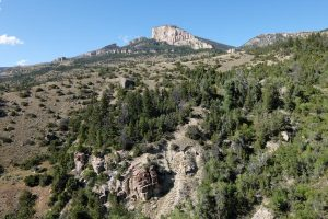 Bighorn national forest Wyoming