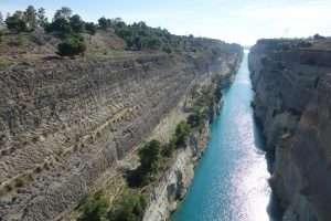 Canale di Corinto Grecia