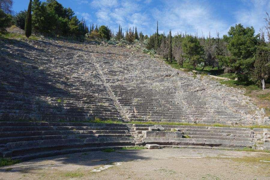 Argos anfiteatro Peloponneso