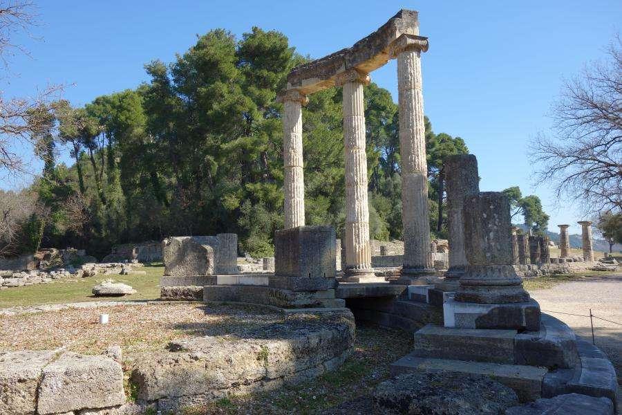 Olimpia sito archeologico