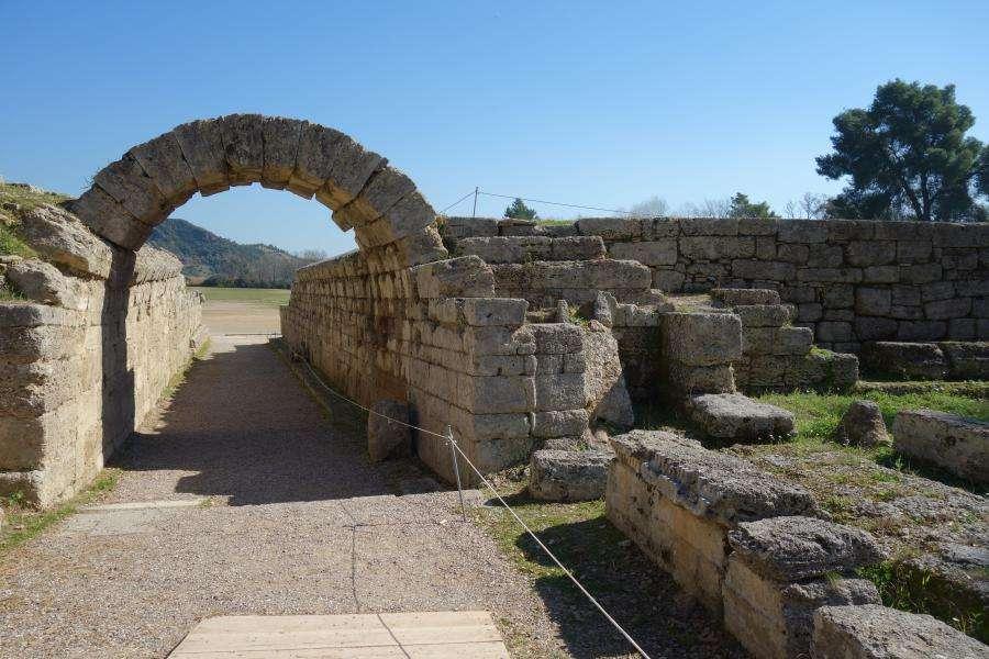Olimpia entrata stadio