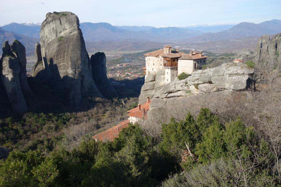 Monastero di Roussanou meteore