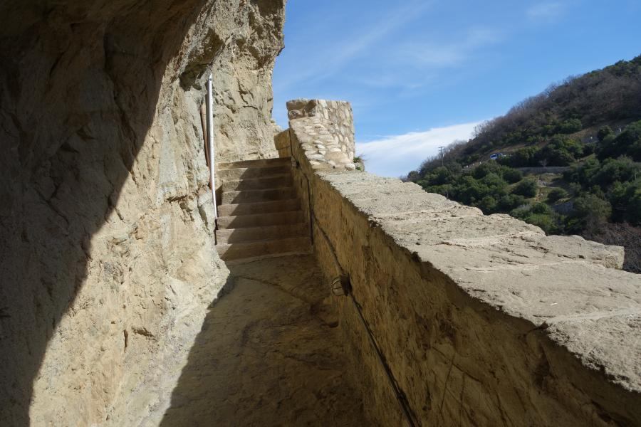 Monastero AgiaTrias salita