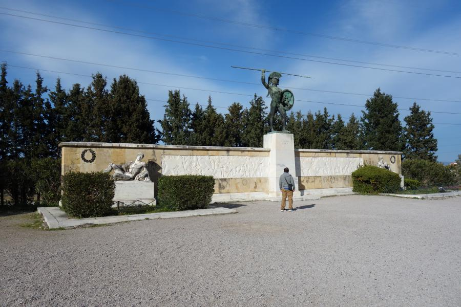 Termopili monumento