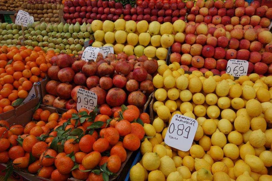 Mercato Atene Grecia
