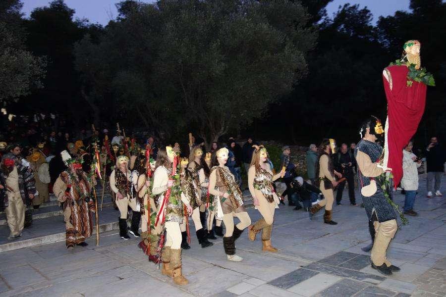 Atene sfilata carnevale Grecia