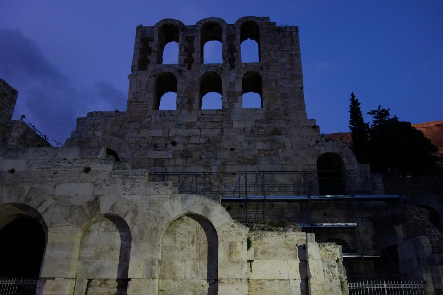 Anfiteatro Odeion Atene