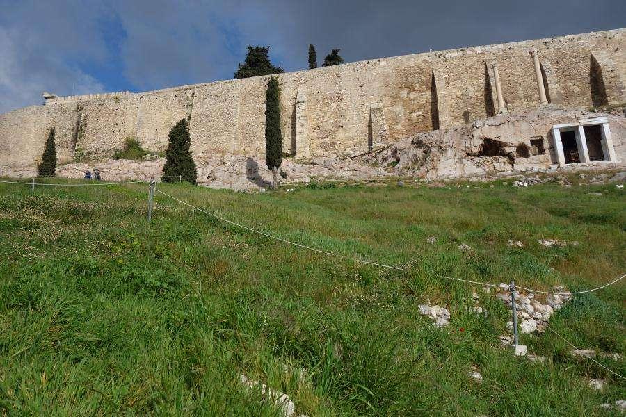 Mura ciclopiche e monumento coregico di Trasillo