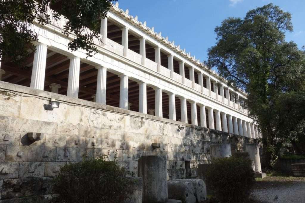 Stoà di Attalo agorà greca