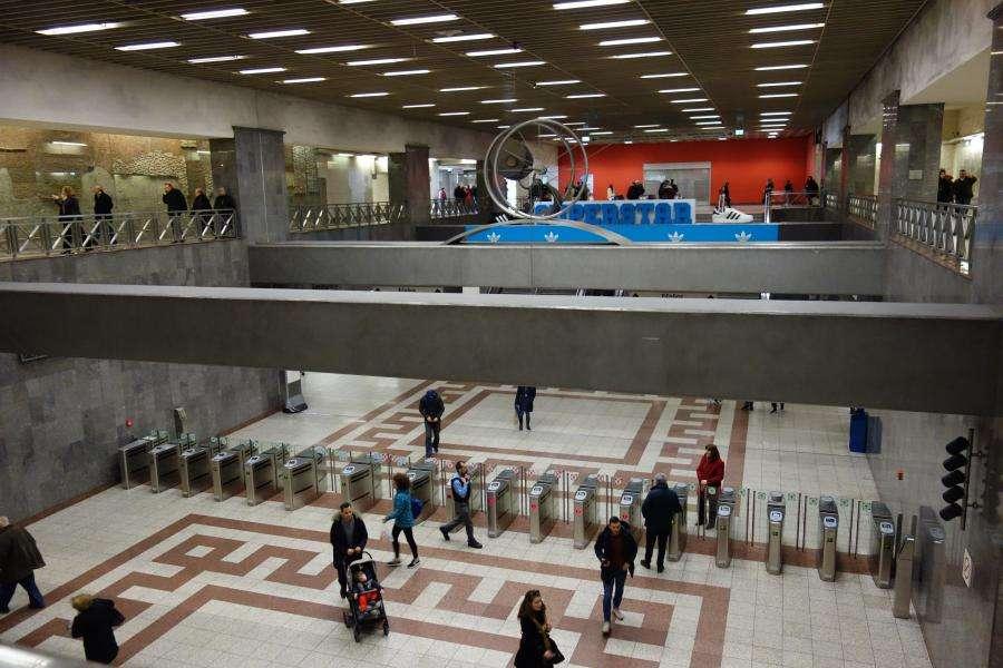 Metropolitana fermata Syntagma Atene