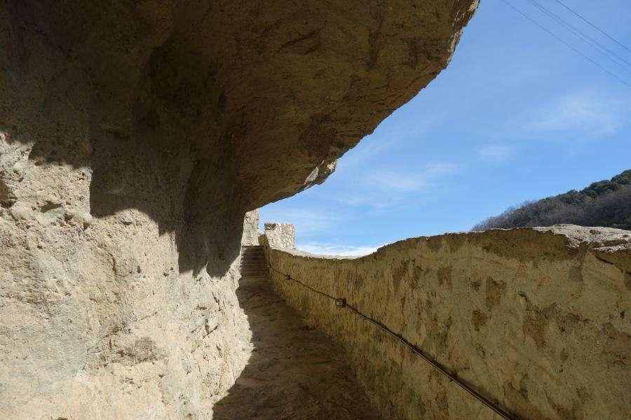 Salita al monastero di Agia Triada