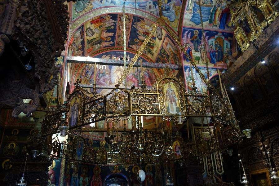 Interno monastero delle Meteore