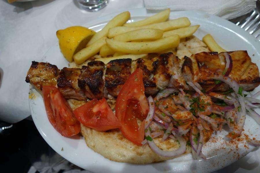 Gyro-pita cucina greca