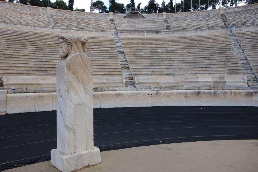 Pista dello stadio Panathenaiko