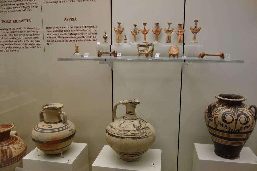 Micene museo archologico vasi