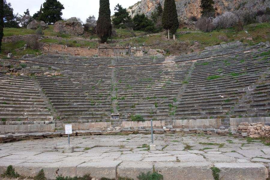 Anfiteatro a Delfi