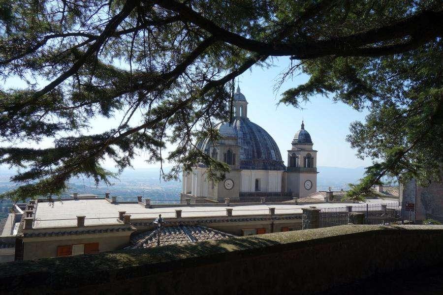 Montefiascone cupola della cattedrale