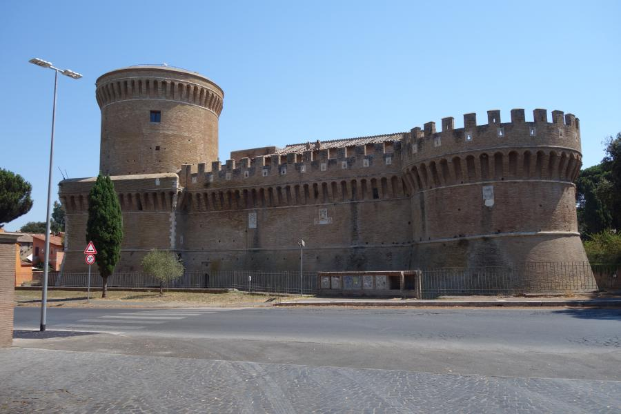 Castello Ostia antica Lazio in camper