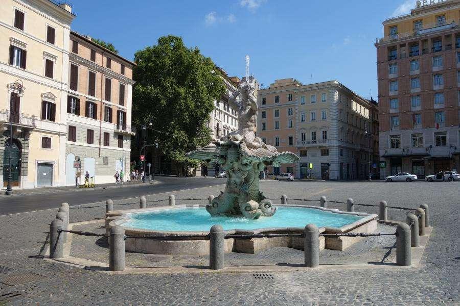 Roma piazza Barberini