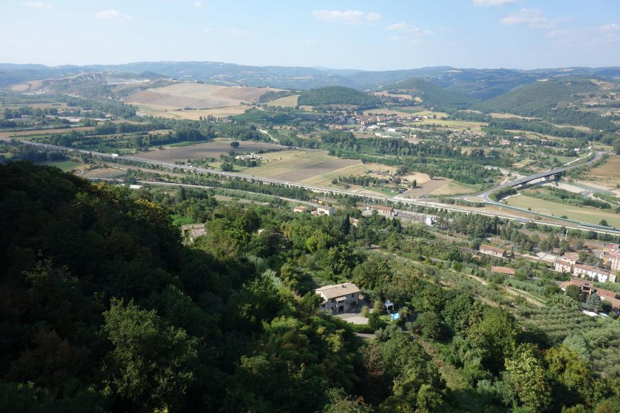 Panorama da Orvieto