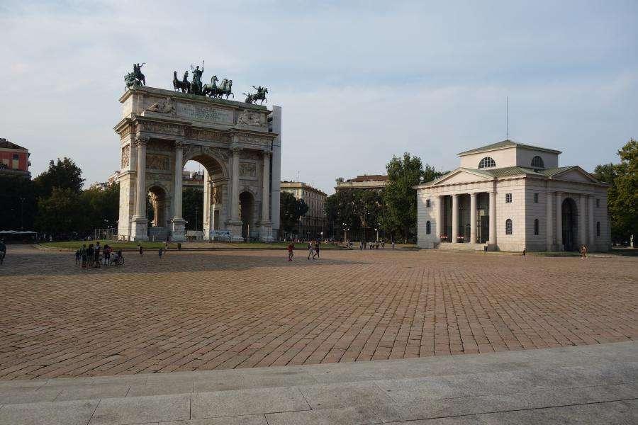 Parco Sempione Arco della Pace