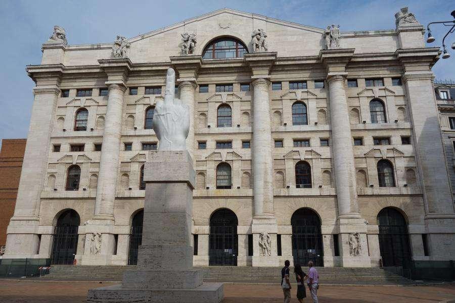 Piazza Affari la Borsa