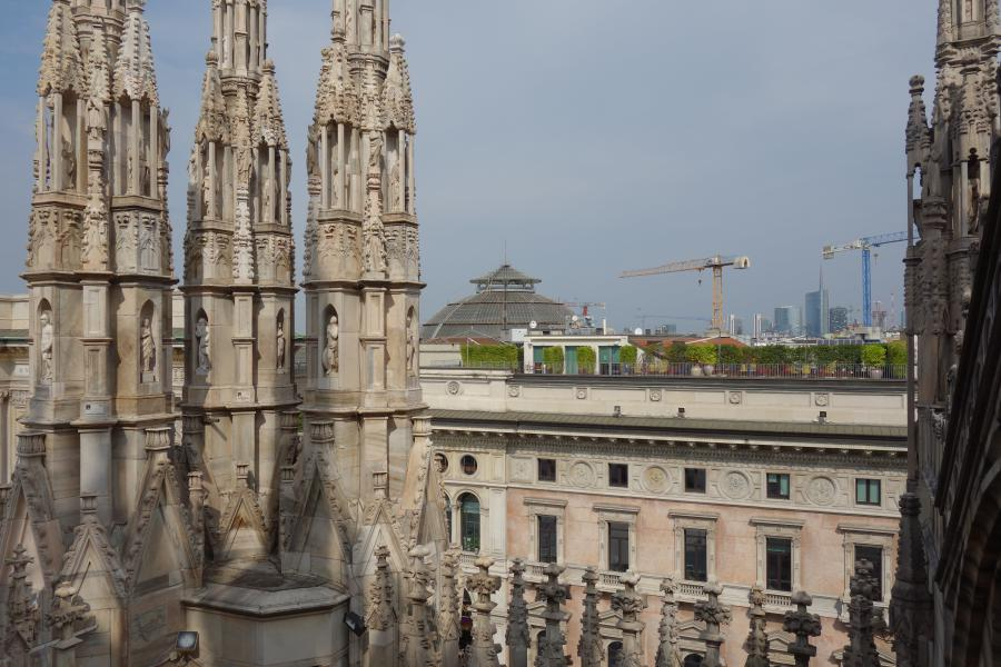 Duomo vista dal tetto