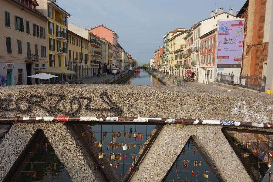 Navigli di Milano di giorno