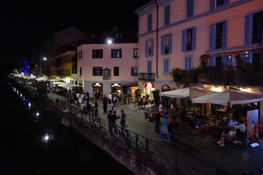 Navigli by night
