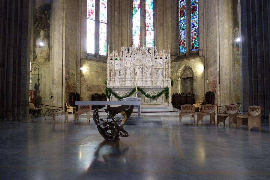 Interno del Duomo di Arezzo