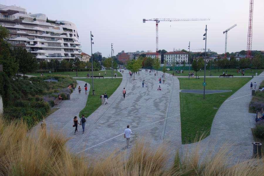 City Life District il Parco e le residenze