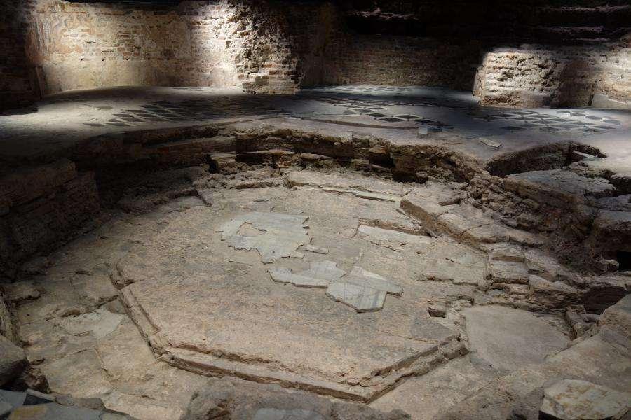 Resti archeologici del battistero del Duomo