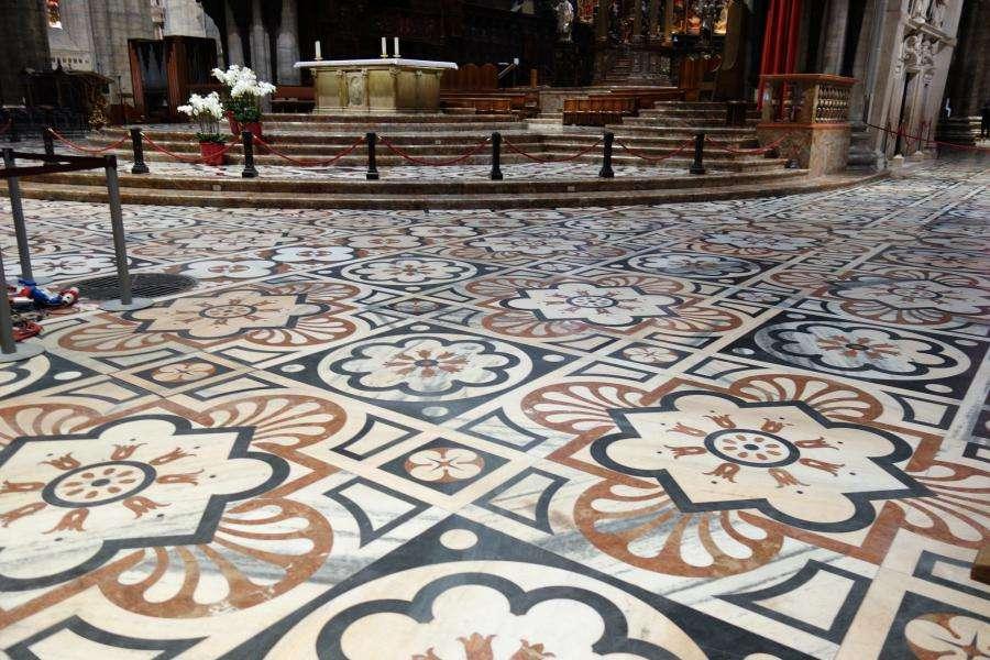 Pavimento in marmo policromo del duomo