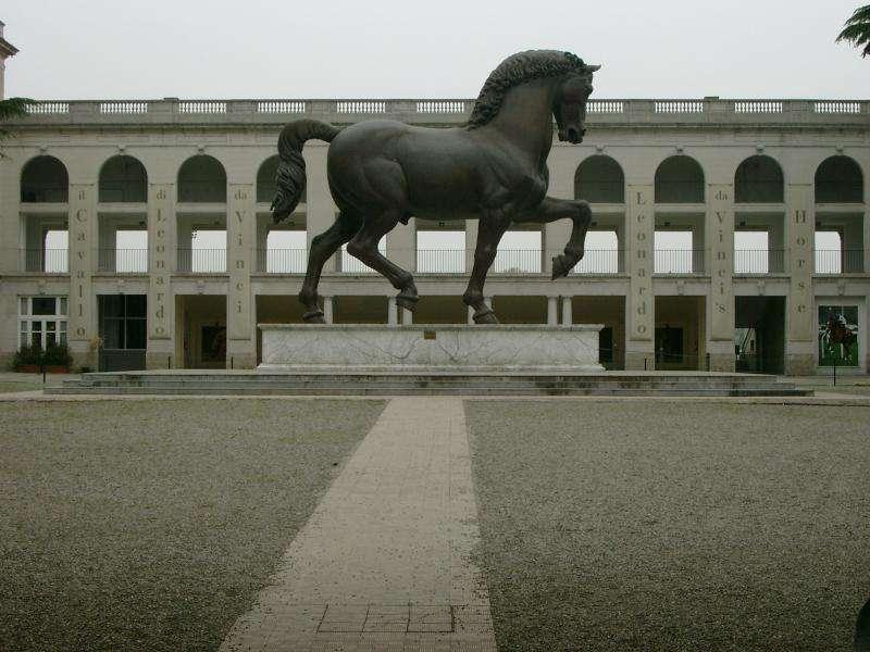 Cavallo di Leonardo da Vinci a Milano