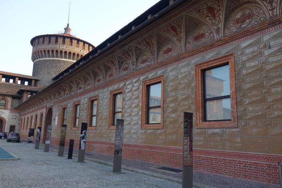 Museo Pietà Rondanini castello sforzesco