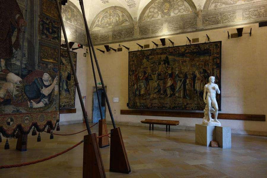 Arazzi nel Museo di Arte Antica Milano