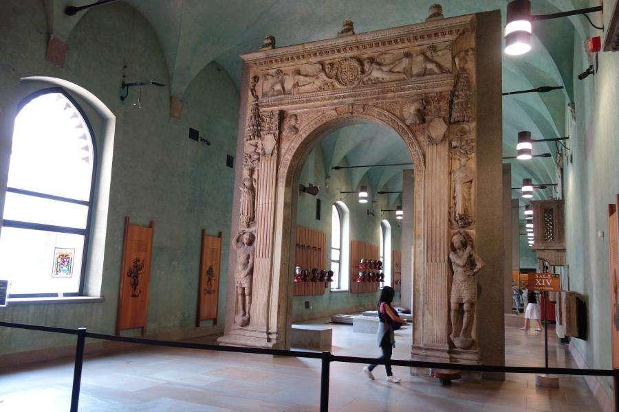 Museo arte antica al castello sforzesco