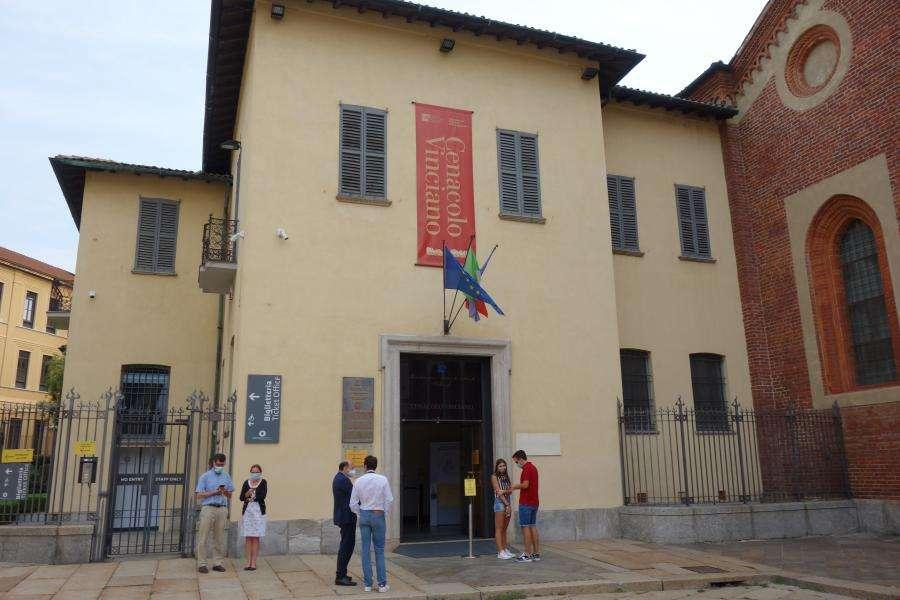 Cenacolo entrata Milano