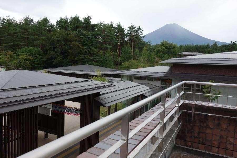 Monte Fuji dal Fujisan World Heritage Center