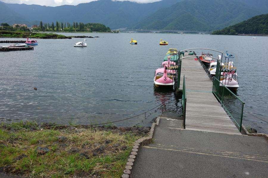 Lago Kawaguchi Monte Fuji