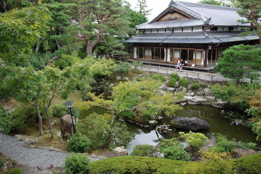 Isui-en giardino zen a Nara Giappone