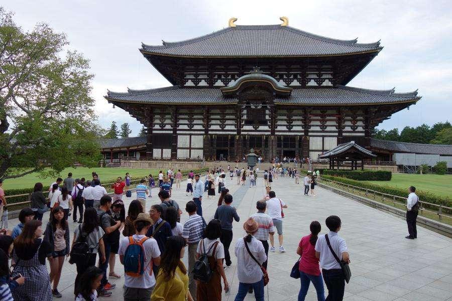 Todai-ji tempio buddista di Nara