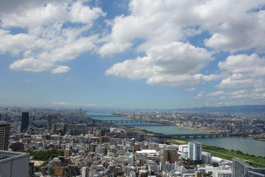 Osaka panorama da Umeda Sky Building