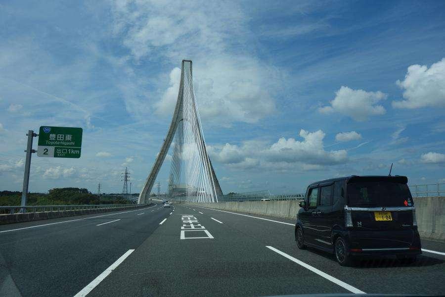 Guidare in Giappone pedaggi