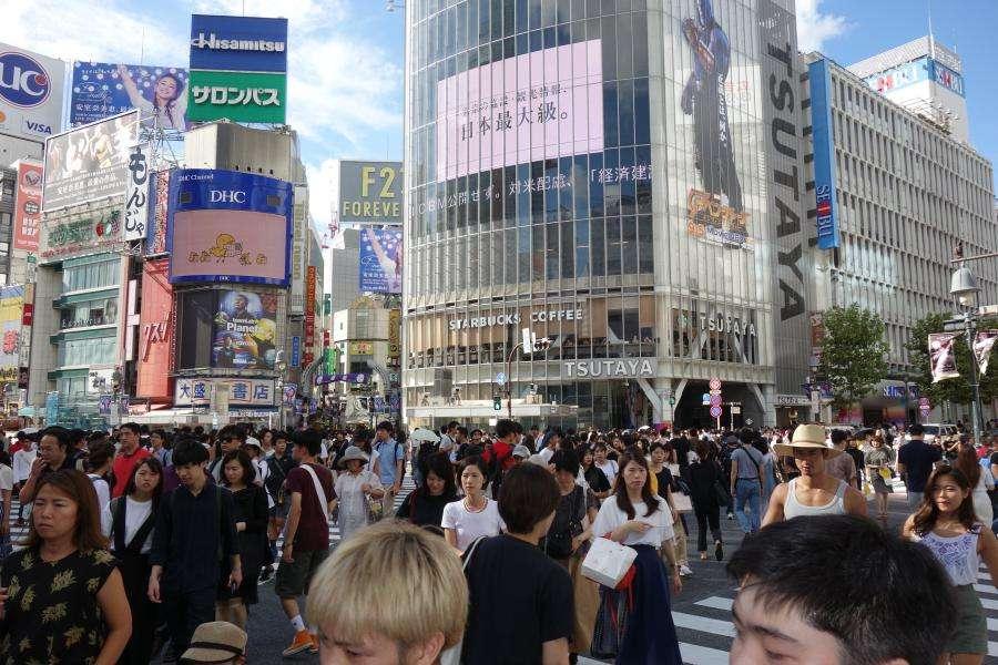 Shibuya incrocio a Tokyo