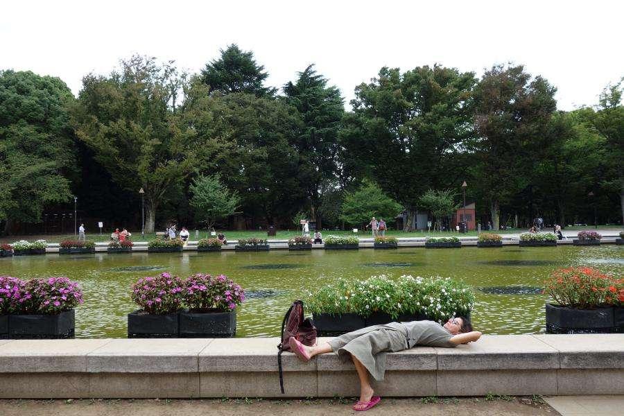Ueno park a Tokyo