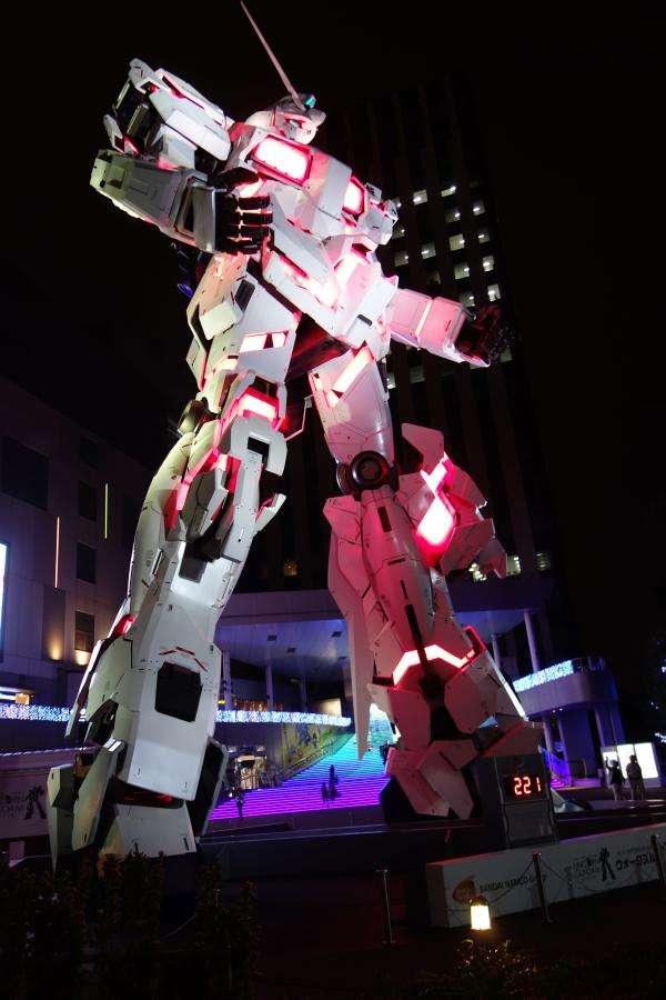 Gundam a Odaiba