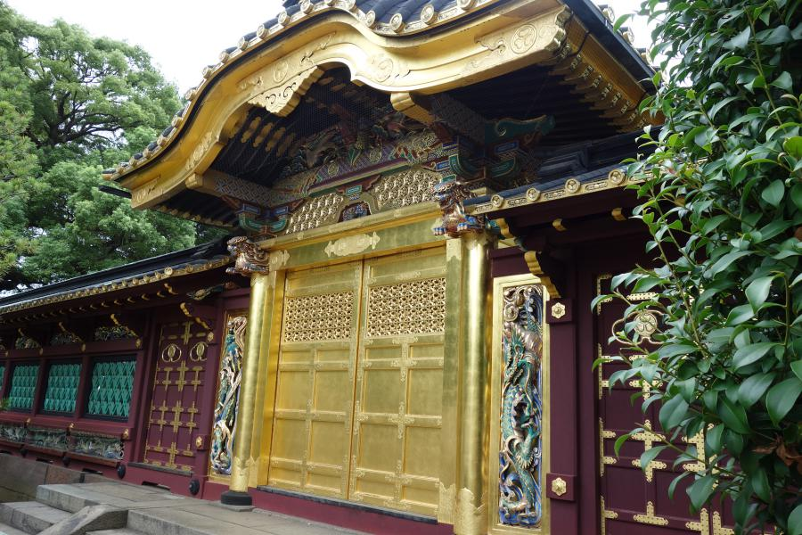 Karamon del Toshogu a Ueno
