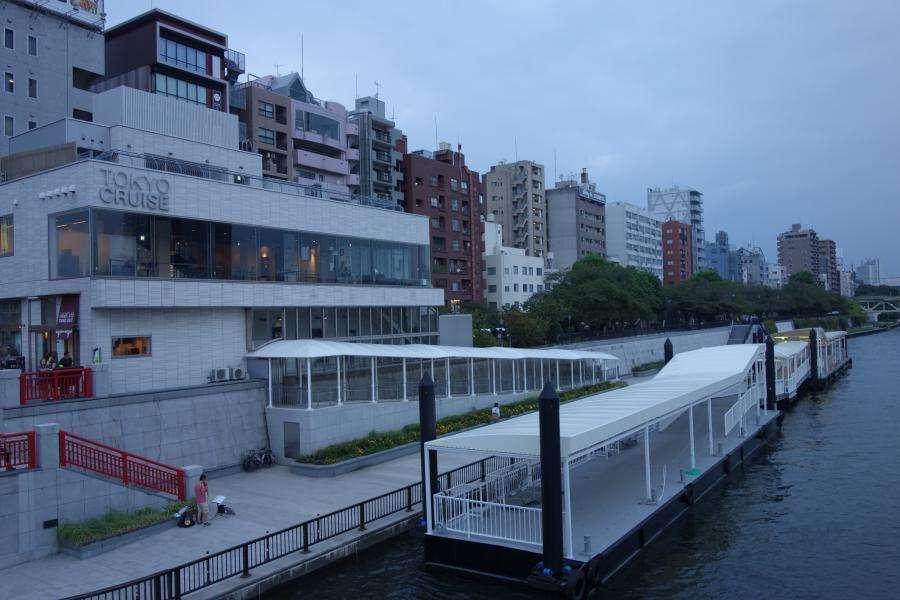Asakusa imbarco crociere sul fiume